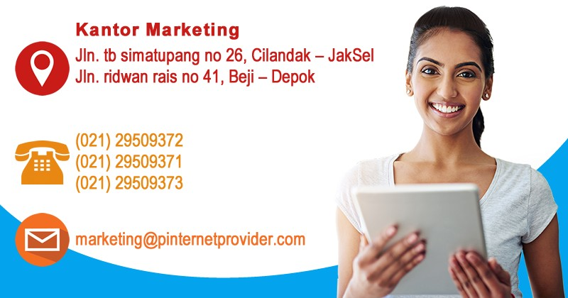 kontak marketing pinternetprovider
